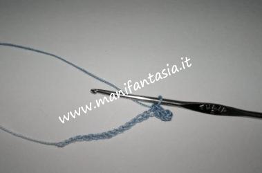 uncinetto catenelle e maglia bassa