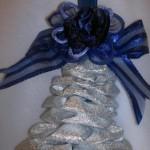 campana natalizia di stoffa