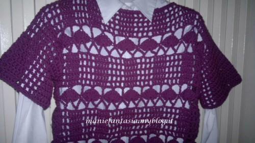 maglione uncinetto ragazza schema