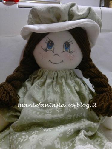 bambola di stoffa tutorial facile