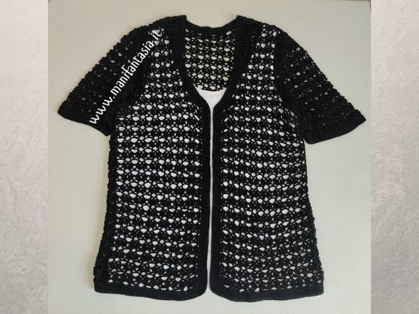 modelli e schemi di maglie e giacche donna uncinetto