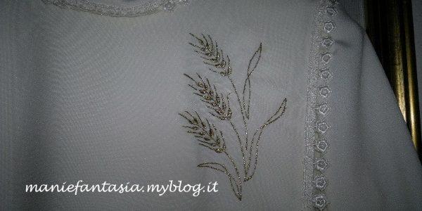 spighe di grano per la prima comunione