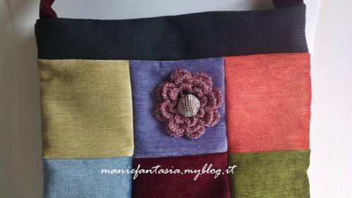 borsa patchwork tutorial facile
