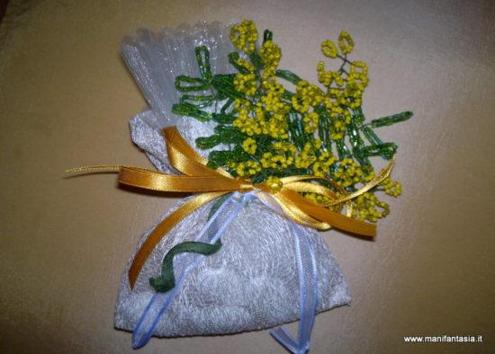 mimosa di perline tutorial e istruzioni facili