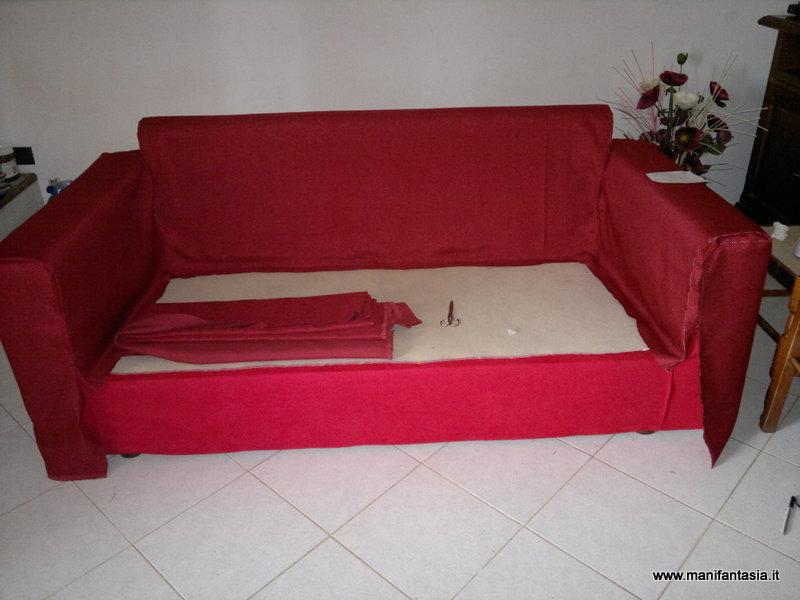 Come rivestire e foderare un divano manifantasia for Prezzi per rivestire un divano