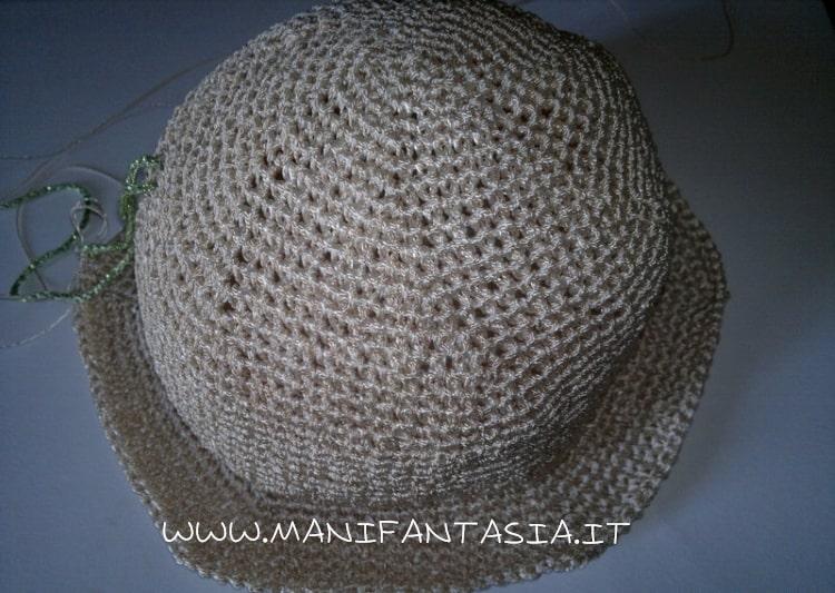 cappello uncinetto estivo spiegazioni