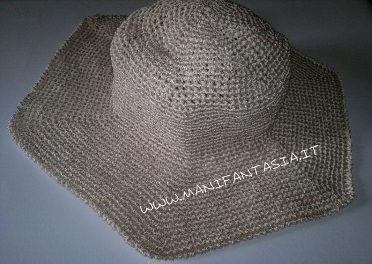 come fare un cappello estivo a uncinetto