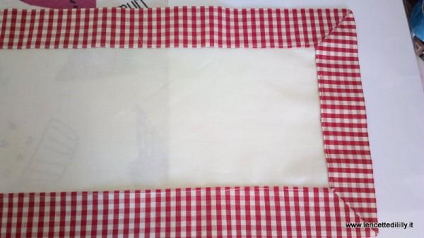 come fare le tendine per la cucina con piccole mantovane