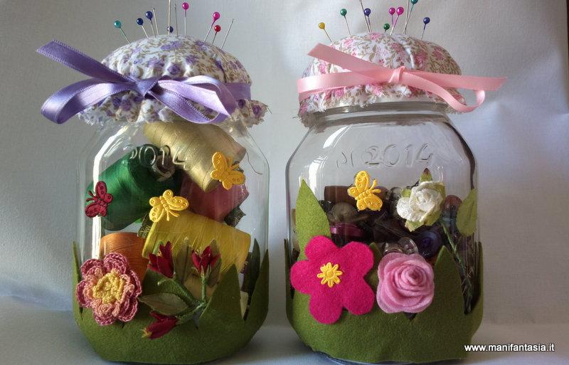 Tutorial idea come riciclare i vasetti di nutella - Regali da ufficio ...