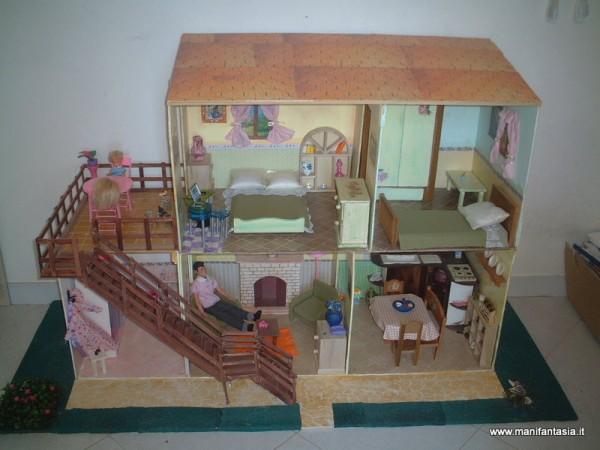 Casa delle barbie fai da te manifantasia for Fai piani a casa