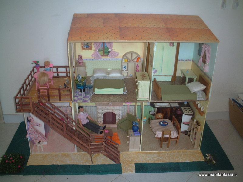Casa delle barbie fai da te manifantasia - Idee per costruire una casa ...