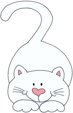 modello gattino per cucire sacchetto asilo