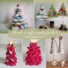 alberelli natalizi di stoffa fai da te idee