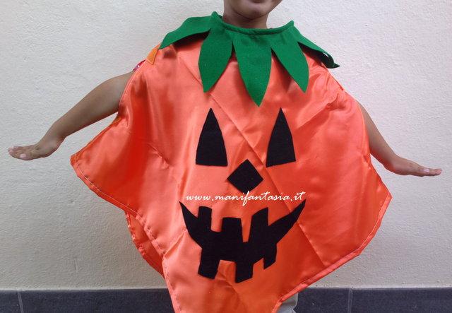 Vestito zucca halloween fai da te bimbi manifantasia for Zucca di halloween fai da te