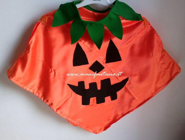 Vestito di halloween zucca per bimbi (e non solo)