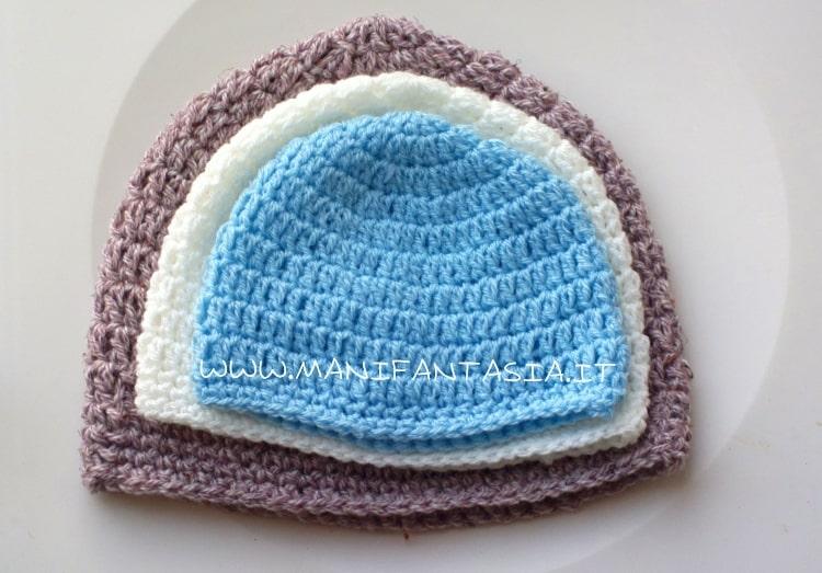 Come calcolare le misure dei cappelli ad uncinetto