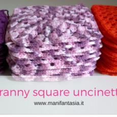 granny square uncinetto schema classico