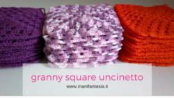 granny square uncinetto