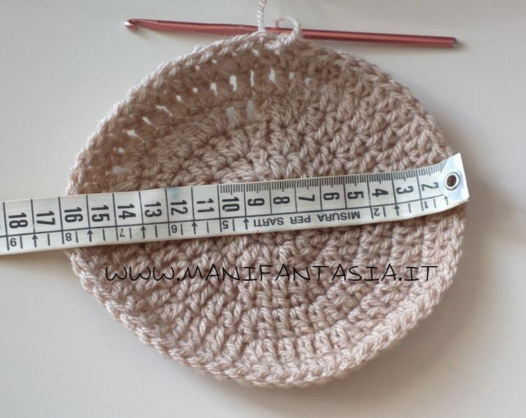 schema cappellino uncinetto 3-10 anni