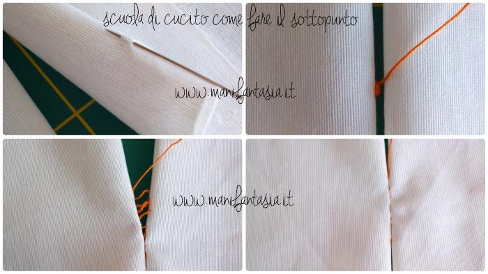 scuola di cucito come cucire a mano punti base