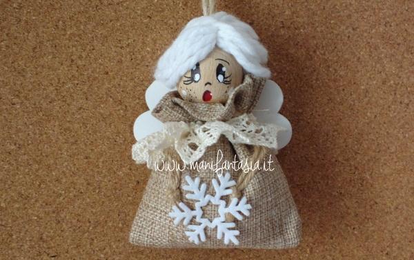 angelo natalizio shabby chic con la yuta
