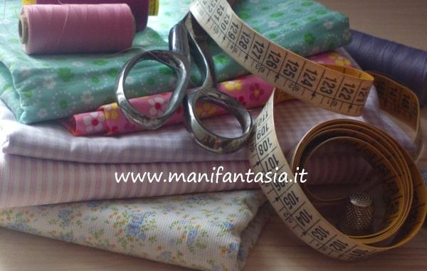 imparare a cucire riconoscere le stoffe