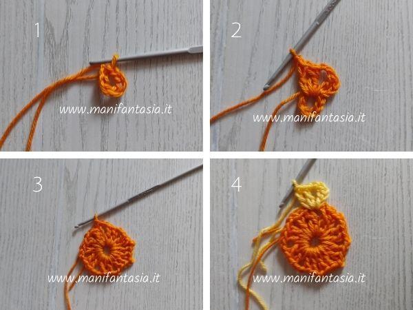 African flower quadrato tutorial