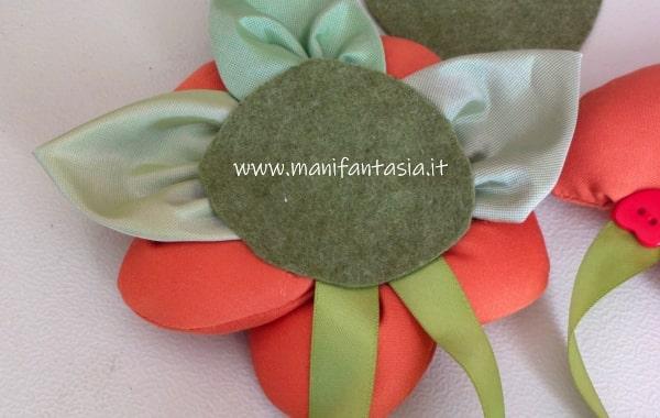 fiori di stoffa imbottiti come fare
