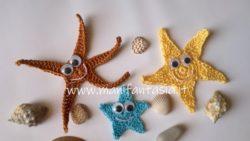 stelle marine ad uncinetto per applicazioni