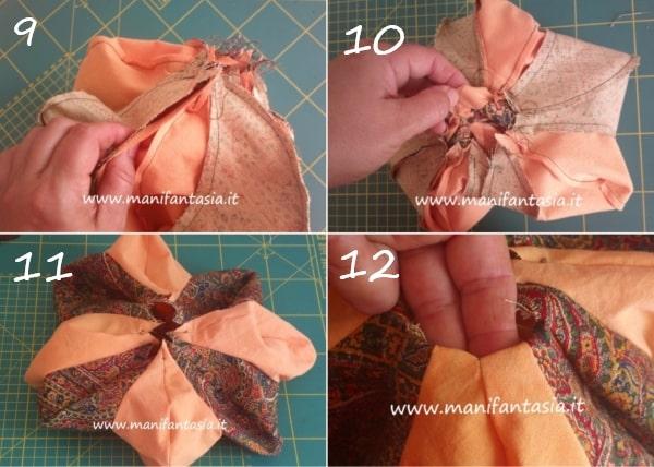 zucche di stoffa tutorial
