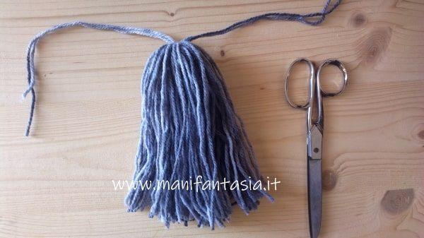 barba di lana gnomi in feltro e pannolenci