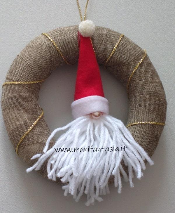 ghirlande natalizie fai da te riciclo