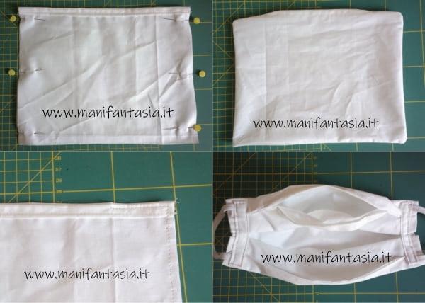 mascherine di stoffa con filtro