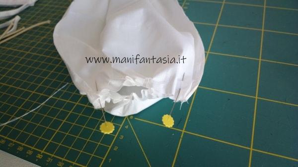 tutorial mascherine fatte in casa con il cucito