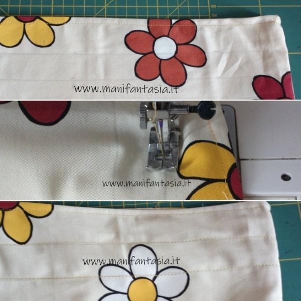sacchetto per il pane di stoffa cucito creativo (2)
