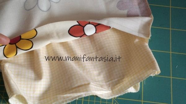 sacchetto per il pane di stoffa tutorial e spiegazioni