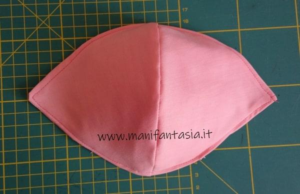 tutorial come cucire una mascherina di stoffa senza modello (3)