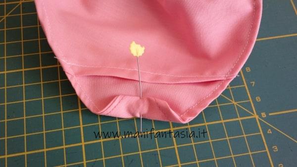 tutorial come cucire una mascherina di stoffa senza modello (4)
