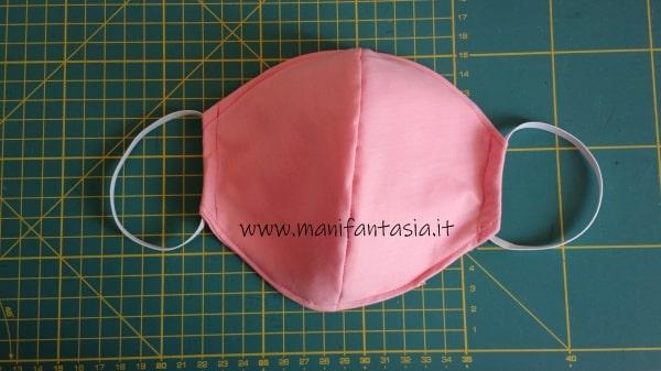 tutorial come cucire una mascherina di stoffa senza modello (5)