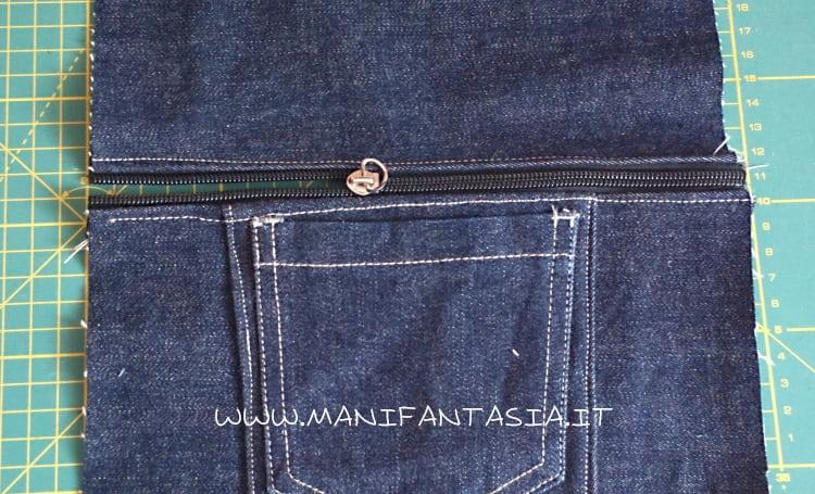 portapenne riciclo jeans