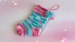 calza della befana ad uncinetto