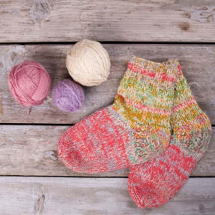calza befana fai da te a maglia