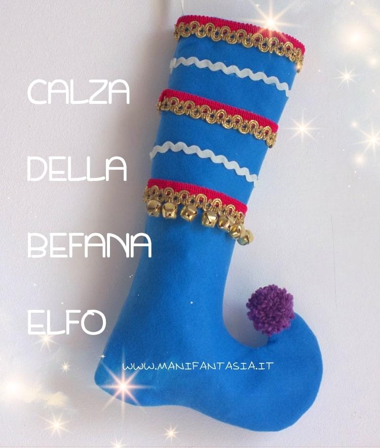 calza della befana elfo tutorial