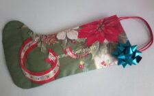 calza della befana senza cucire con sacchetti di carta occorrente