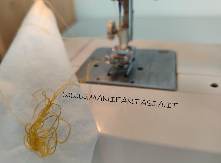 tensione sbagliata macchina da cucire