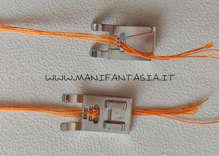 piedini universali per applicare cordoncini 5-7 fori