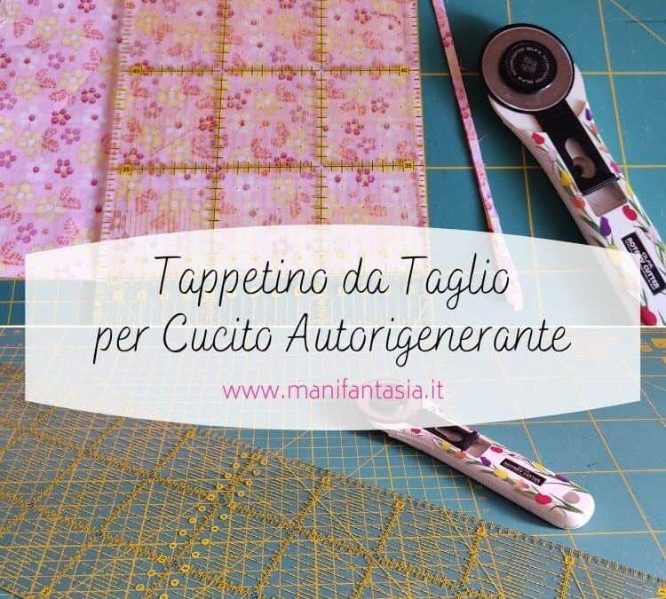 tappetino da taglio per cucito autorigenerante