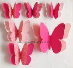farfalle di carta grandi e piccole tutorial
