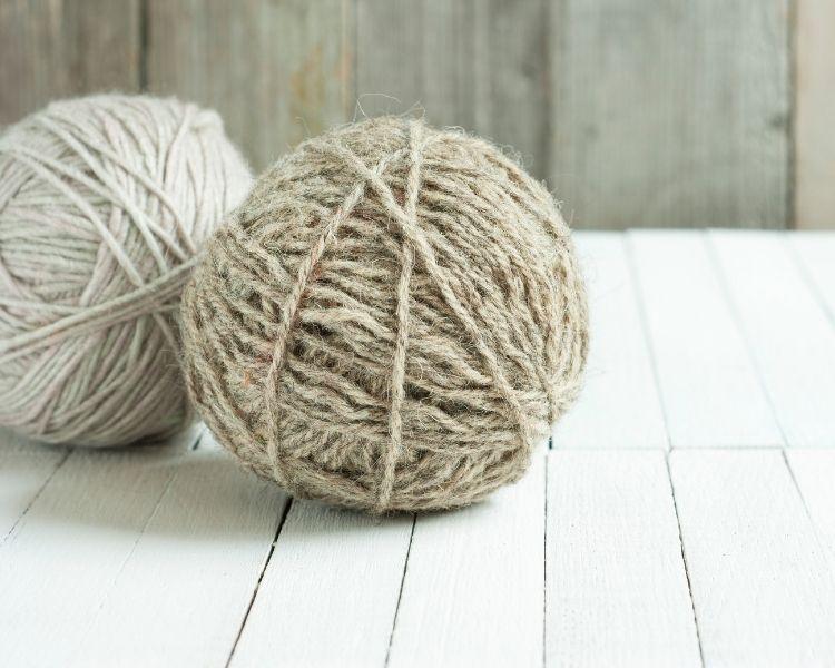 filati di lana naturali