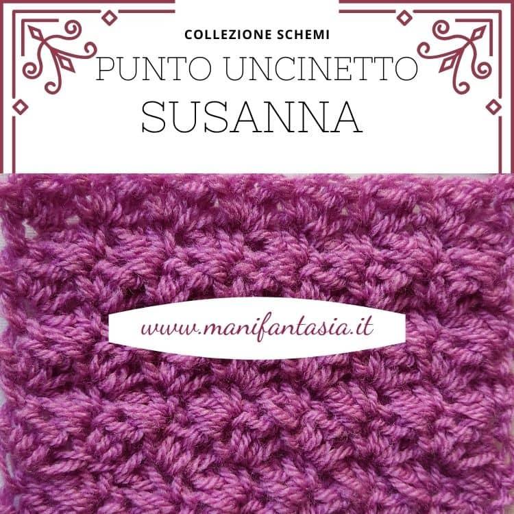punto uncinetto Susanna